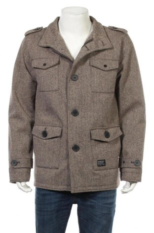 Ανδρικά παλτό KR3W, Μέγεθος L, Χρώμα Καφέ, 90% πολυεστέρας, 10% πολυαμίδη, Τιμή 35,79€
