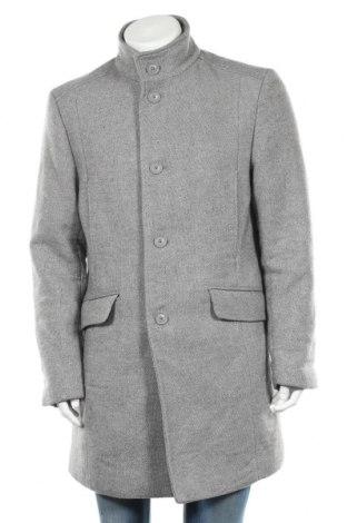 Ανδρικά παλτό McNeal, Μέγεθος XL, Χρώμα Γκρί, 80% πολυεστέρας, 20% μαλλί, Τιμή 42,46€