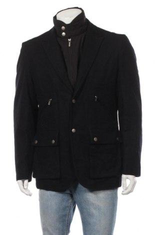 Ανδρικά παλτό Navyboot, Μέγεθος L, Χρώμα Μαύρο, 70% μαλλί, 20% πολυαμίδη, 10% κασμίρι, Τιμή 73,43€