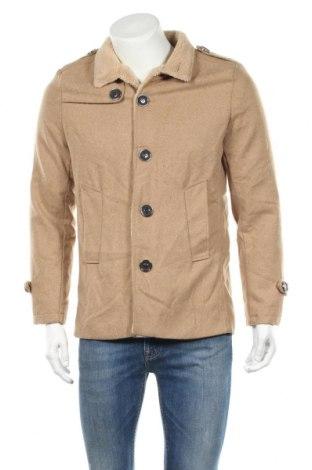 Ανδρικά παλτό Owind, Μέγεθος M, Χρώμα  Μπέζ, Τιμή 30,23€