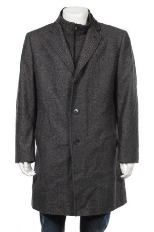 Ανδρικά παλτό Roy Robson, Μέγεθος L, Χρώμα Γκρί, 67% μαλλί, 21% πολυαμίδη, 12% πολυεστέρας, Τιμή 69,72€