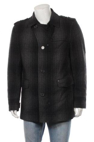 Ανδρικά παλτό WE, Μέγεθος XL, Χρώμα Γκρί, 75% μαλλί, 25% πολυεστέρας, Τιμή 34,55€