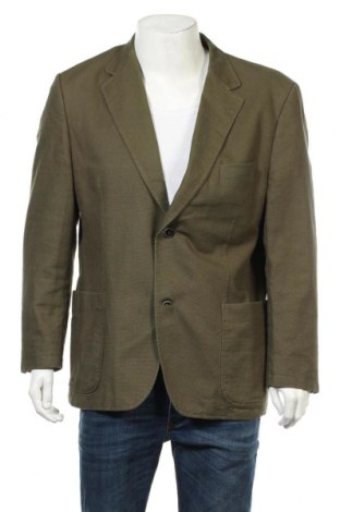 Мъжко сако Abrams, Размер XL, Цвят Зелен, Памук, Цена 31,19лв.