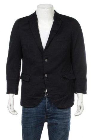 Ανδρικό σακάκι Barutti, Μέγεθος S, Χρώμα Μπλέ, 48% ασετάτ, 48% μαλλί, 4% πολυαμίδη, Τιμή 6,37€