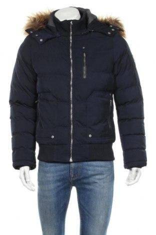 Мъжко яке Cars Jeans, Размер S, Цвят Син, Полиамид, Цена 98,28лв.