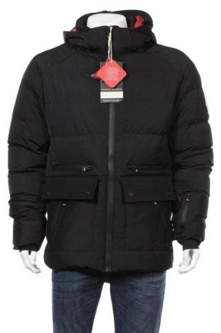 Мъжко яке Geographical Norway, Размер L, Цвят Черен, 100% полиестер, Цена 180,95лв.