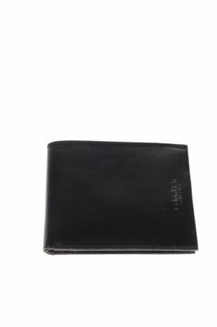 Портмоне Calvin Klein, Цвят Черен, Естествена кожа, Цена 96,75лв.