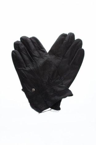 Ръкавици, Цвят Черен, Естествена кожа, Цена 25,87лв.