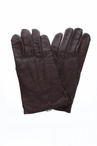 Ръкавици Laimbock, Цвят Кафяв, Естествена кожа, Цена 25,87лв.