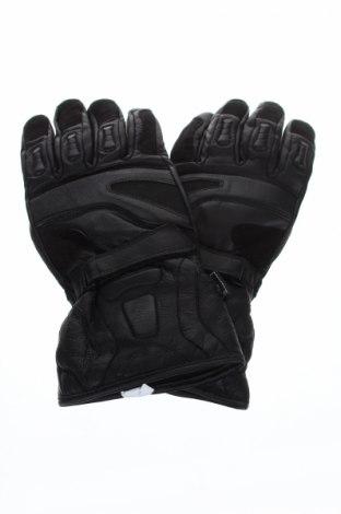 Ръкавици за зимни спортове, Цвят Черен, Естествена кожа, Цена 25,87лв.