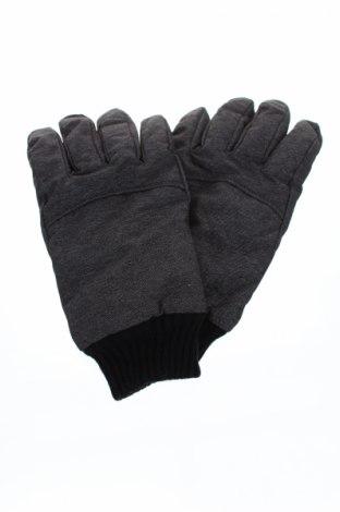 Ръкавици за зимни спортове Dressmann, Цвят Сив, 70% полиамид, 30% полиестер, Цена 25,87лв.