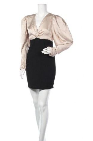 Φόρεμα Alice & Charlotte, Μέγεθος M, Χρώμα  Μπέζ, Πολυεστέρας, Τιμή 8,14€