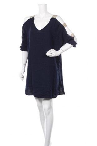 Φόρεμα Famous, Μέγεθος L, Χρώμα Μπλέ, Πολυεστέρας, Τιμή 18,84€
