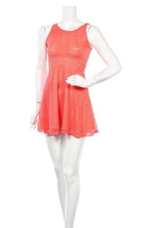 Рокля Jennyfer, Размер XS, Цвят Оранжев, 85% полиамид, 15% еластан, Цена 38,35лв.