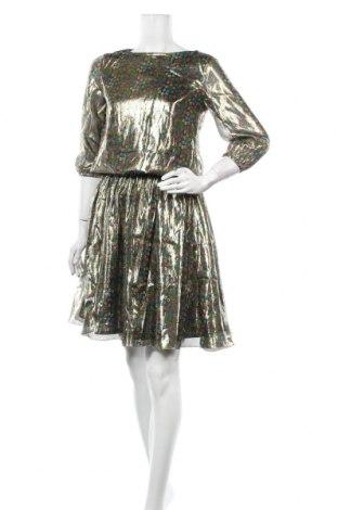 Φόρεμα Manoush, Μέγεθος XS, Χρώμα Πολύχρωμο, 74% μετάξι, 24% μεταλλικά νήματα, Τιμή 30,16€