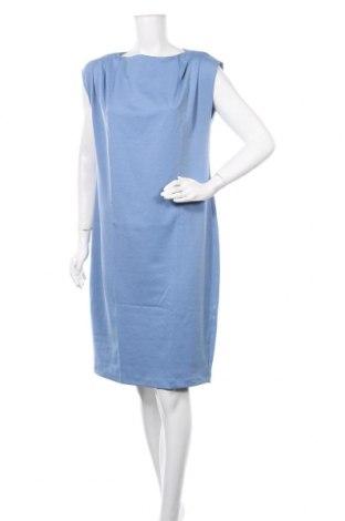 Φόρεμα Nife, Μέγεθος L, Χρώμα Μπλέ, 45% βισκόζη, 38% πολυεστέρας, 12% πολυαμίδη, 5% ελαστάνη, Τιμή 26,68€