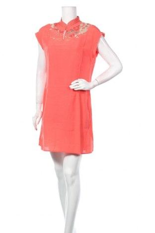 Φόρεμα Nitya, Μέγεθος M, Χρώμα Πορτοκαλί, Βισκόζη, Τιμή 17,66€