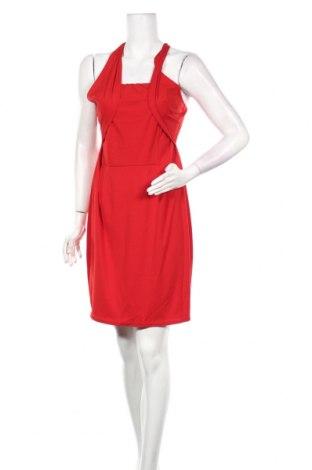 Рокля Orna Farho, Размер L, Цвят Червен, 92% полиестер, 8% еластан, Цена 18,50лв.