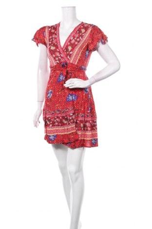 Φόρεμα Pretty Summer, Μέγεθος M, Χρώμα Κόκκινο, Βισκόζη, Τιμή 11,56€