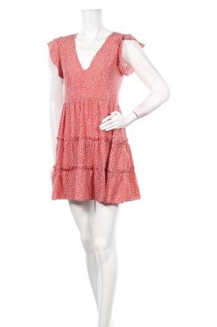 Φόρεμα Pretty Summer, Μέγεθος S, Χρώμα Ρόζ , 65% πολυεστέρας, 30% βαμβάκι, 5% ελαστάνη, Τιμή 11,56€
