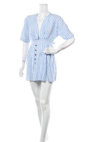 Φόρεμα Pretty Summer, Μέγεθος L, Χρώμα Μπλέ, 65% πολυεστέρας, 35% βαμβάκι, Τιμή 6,69€