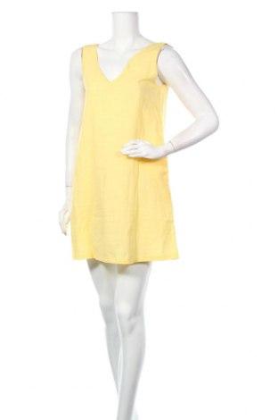 Φόρεμα Pretty Summer, Μέγεθος S, Χρώμα Κίτρινο, 65% πολυεστέρας, 30% βαμβάκι, 5% ελαστάνη, Τιμή 10,18€