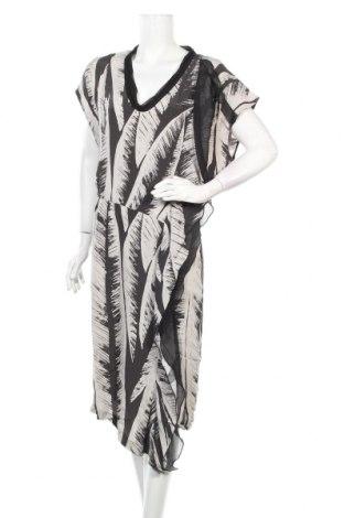 Рокля Sisley, Размер M, Цвят Сив, Вискоза, Цена 23,84лв.