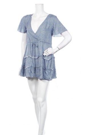 Φόρεμα TINA, Μέγεθος S, Χρώμα Μπλέ, 65% πολυεστέρας, 30% βαμβάκι, 5% ελαστάνη, Τιμή 13,36€