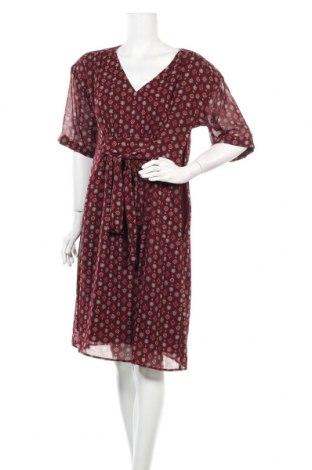 Φόρεμα Un Deux Trois, Μέγεθος L, Χρώμα Κόκκινο, Πολυεστέρας, Τιμή 12,53€
