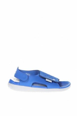 Σανδάλια Nike, Μέγεθος 35, Χρώμα Μπλέ, Πολυουρεθάνης, Τιμή 17,16€