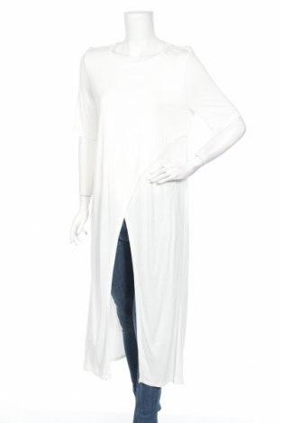 Туника Mango, Размер XL, Цвят Бял, Вискоза, Цена 35,96лв.