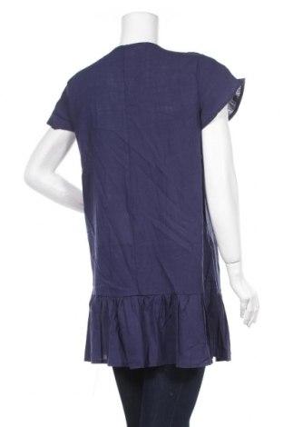 Туника Pretty Summer, Размер XL, Цвят Син, 65% полиестер, 30% памук, 5% еластан, Цена 26,68лв.