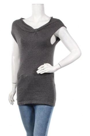 Дамски пуловер Promod, Размер S, Цвят Сив, 52% памук, 20% вискоза, 16% полиамид, 12% ангора, Цена 6,04лв.