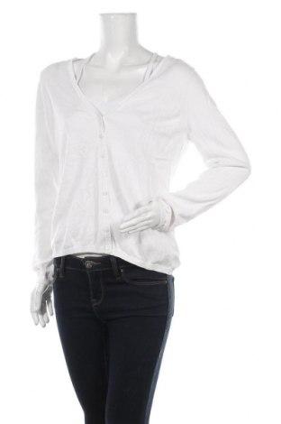 Cardigan de damă Esprit, Mărime XXL, Culoare Alb, 100% bumbac, Preț 72,95 Lei