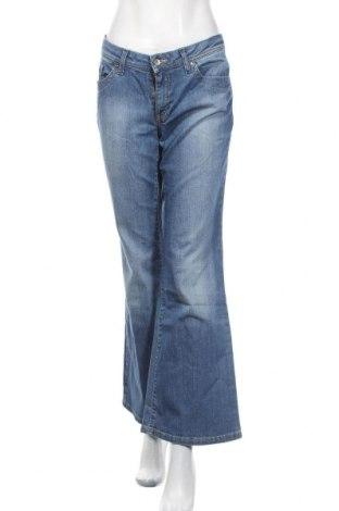 Blugi de femei Esprit, Mărime L, Culoare Albastru, 98% bumbac, 2% elastan, Preț 116,05 Lei