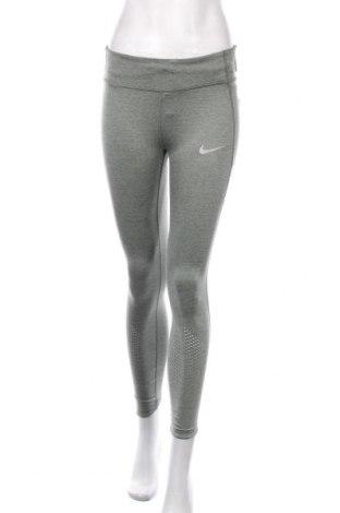 Γυναικείο κολάν Nike, Μέγεθος M, Χρώμα Πράσινο, 78% πολυεστέρας, 22% ελαστάνη, Τιμή 38,27€