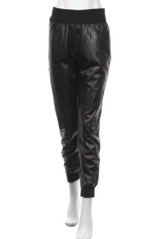 Γυναικείο παντελόνι δερμάτινο Kendall & Kylie, Μέγεθος M, Χρώμα Μαύρο, Δερματίνη, Τιμή 66,50€