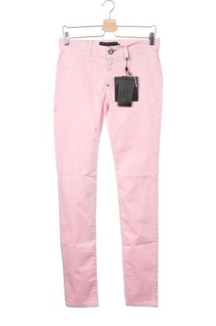 Γυναικείο παντελόνι Philipp Plein, Μέγεθος M, Χρώμα Ρόζ , 97% βαμβάκι, 3% ελαστάνη, Τιμή 219,98€