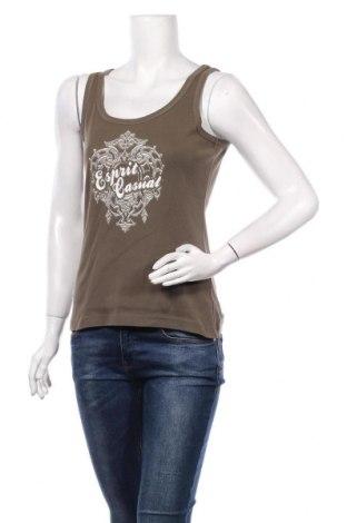 Tricou de damă Esprit, Mărime L, Culoare Verde, Bumbac, Preț 69,63 Lei