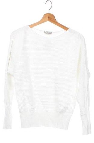 Pulover de femei H&M, Mărime XS, Culoare Alb, 80% viscoză, 20% poliamidă, Preț 106,11 Lei