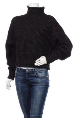 Pulover de femei H&M, Mărime XS, Culoare Negru, 90%acril, 10% lână, Preț 106,11 Lei