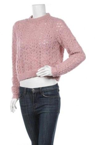 Pulover de femei Vero Moda, Mărime S, Culoare Roz, Poliester, Preț 106,11 Lei