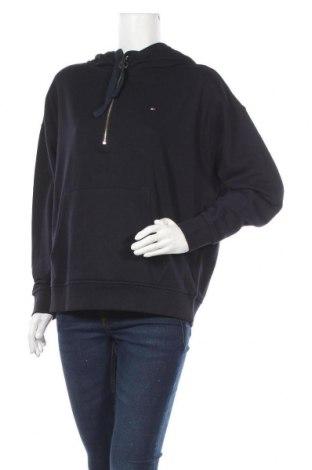 Γυναικείο φούτερ Tommy Hilfiger, Μέγεθος L, Χρώμα Μπλέ, 80% βαμβάκι, 20% πολυεστέρας, Τιμή 61,47€