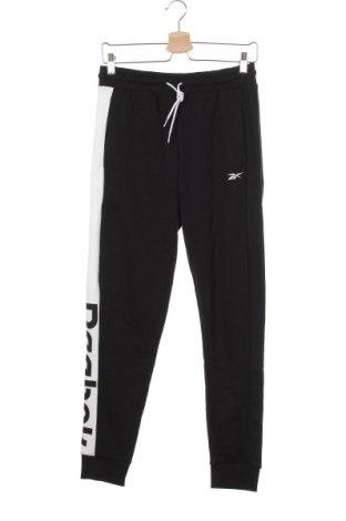 Γυναικείο αθλητικό παντελόνι Reebok, Μέγεθος XS, Χρώμα Μαύρο, 80% βαμβάκι, 20% πολυεστέρας, Τιμή 34,41€