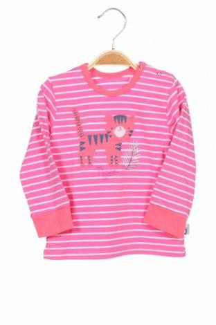 Детска блуза Lamino, Размер 9-12m/ 74-80 см, Цвят Розов, 95% памук, 5% еластан, Цена 27,30лв.