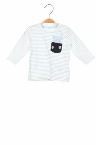 Bluză pentru copii Name It, Mărime 3-6m/ 62-68 cm, Culoare Alb, 95% bumbac, 5% elastan, Preț 59,21 Lei