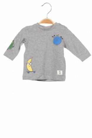 Παιδική μπλούζα Name It, Μέγεθος 1-2m/ 50-56 εκ., Χρώμα Γκρί, 95% βαμβάκι, 5% ελαστάνη, Τιμή 7,94€