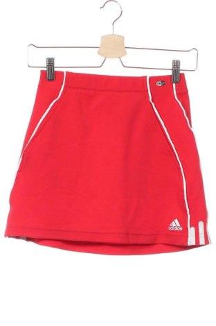 Dětská sukně  Adidas, Velikost 11-12y/ 152-158 cm, Barva Červená, 94% polyester, 6% elastan, Cena  351,00Kč