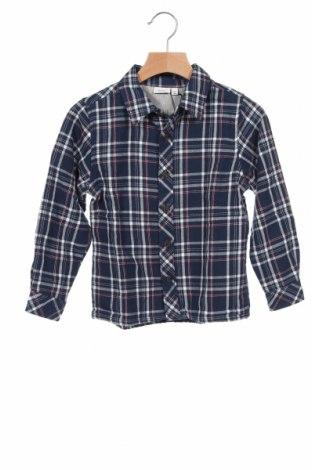 Детска риза Name It, Размер 2-3y/ 98-104 см, Цвят Син, Памук, Цена 34,30лв.