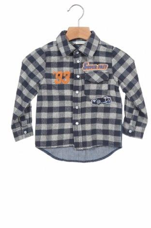Детска риза Name It, Размер 12-18m/ 80-86 см, Цвят Син, Памук, Цена 34,30лв.
